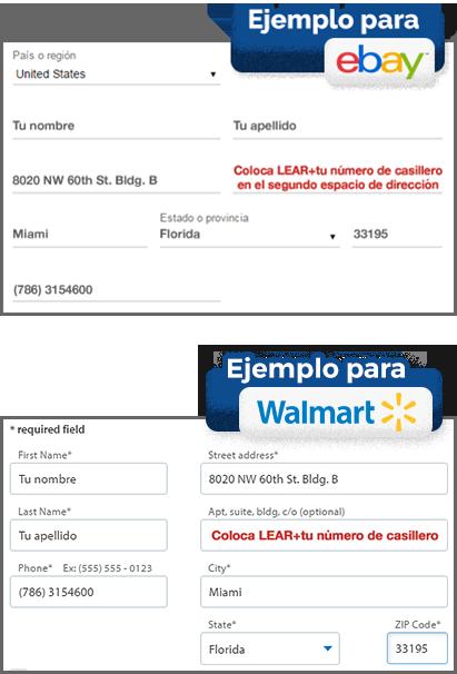 Ebay y walmart example