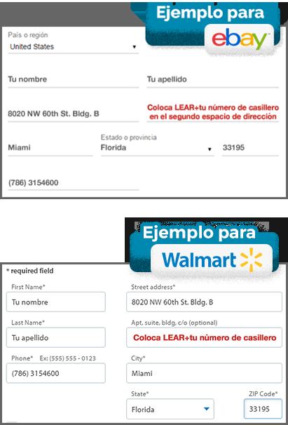 Ejemplo ebay y walmart
