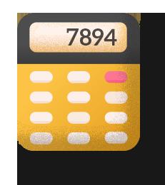 Calculadora header